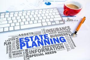 Estate Planning Word cloud. Estate Planning, Wills, Power of Attorney